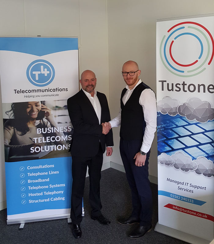 T4 Telecommunications & Tustone Partnership